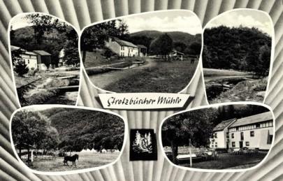 Die Strotzbüscher Mühle rund um 1950