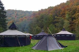 feest op camping